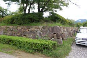 田辺城の天守台