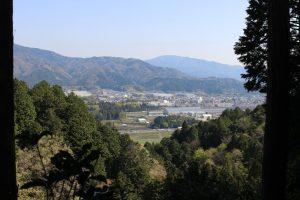 松尾山からの眺め