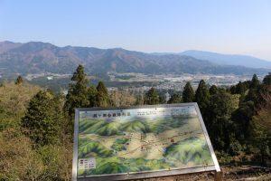 松尾山からの展望