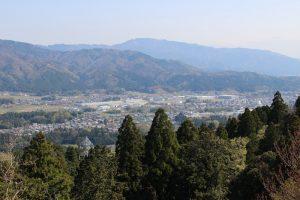 松尾山から関ヶ原の眺め