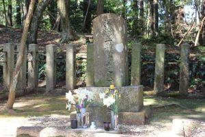 湯浅五助の墓