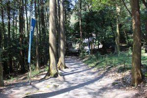 天満神社の参道