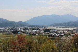 笹尾山からの展望