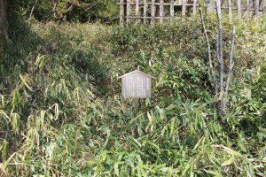 蒲生郷舎の陣跡