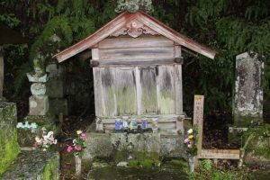 竹中重元の墓