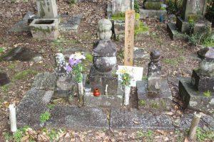 竹中重矩(竹中久作)の墓