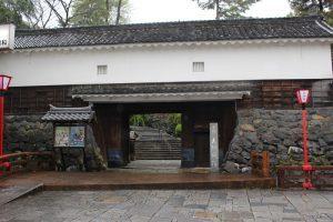 大垣城の柳口門(東門)