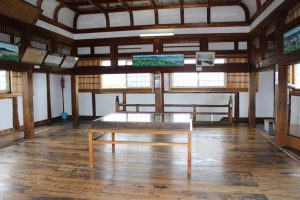 伊賀上野城の天守内部