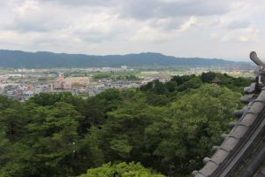 伊賀上野城からの展望