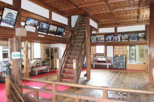 伊賀上野城の内部