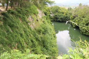 伊賀上野城の水堀