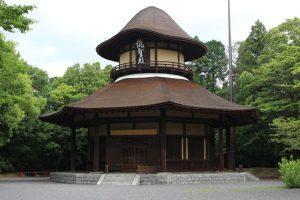 松尾芭蕉を祀る俳聖殿