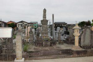 柴田勝重の墓