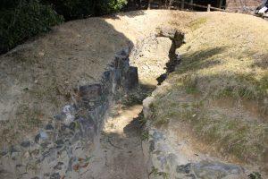 岩崎城の古墳