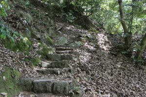 鳥取城の登城路