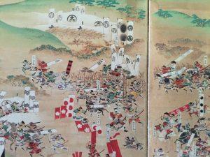 笹尾山「石田三成陣跡」