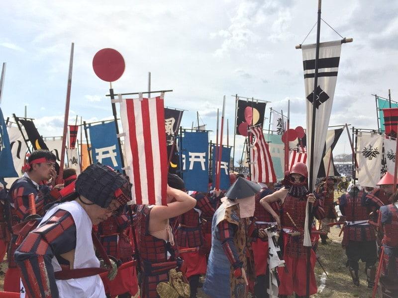 「川中島合戦戦国絵巻 笛吹市の合戦イベント攻略法などレポート」のアイキャッチ画像
